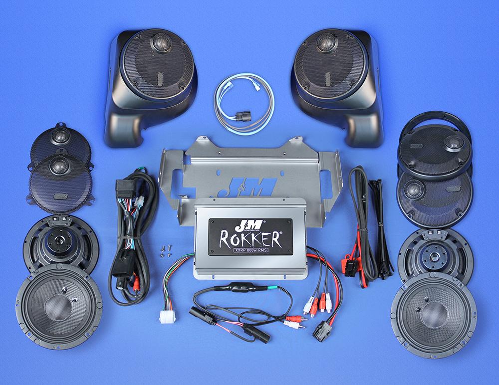 J&M ROKKER® Stage5 Custom 800w 6-Speaker/Amplifier ...