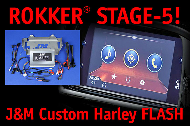 ROKKER Stage 5! J&M Custom Harley Flash