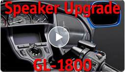 GL1800 & F6B Fairing Speaker Upgrade