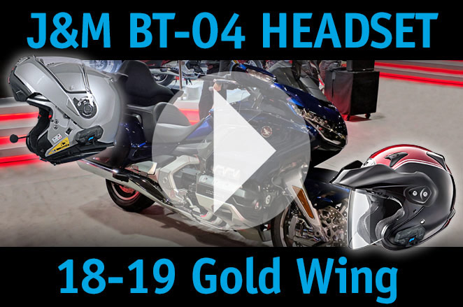 JM BT-04 Headset How-To-Link Series No 2402 - 18-19 Gold Wing