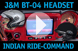 Indian Ride-Command -- JM BT-04 Bluetooth Headset How-To-Link