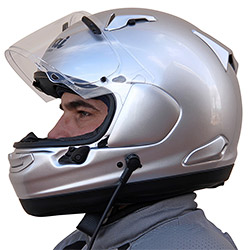 Arai Signet-X Helmet with J&M Integrated Headsets