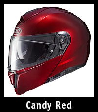 HJC I90 Helmet Candy Red