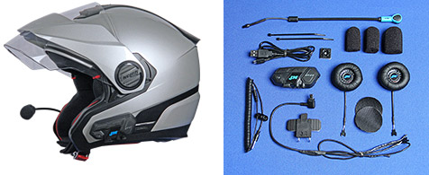 J&M High Performance Custom Bluetooth Integrated Headsets