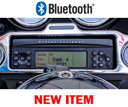 Harley HK Radio Replacement with Bluetooth Added for 2006-2013 Harley StreetGlide/Ultra/Roadglide/CVO