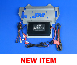 J&M STAGE-5 ROKKER® XXR 400w 2-CH Amplifier Kit for 2014-2020 Harley StreetGlide/Ultra