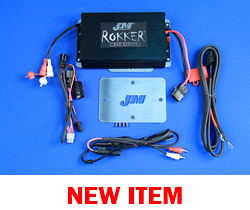 J&M STAGE-5 ROKKER® XXR 400w 2-CH Amplifier Kit for 2015-2020 Harley RoadGlide/RoadGlide Ultra