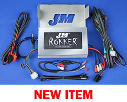 J&M Refurbished ROKKER® XXRP 700w 4-CH DSP Programmable Amplifier kit 2006-2013 Harley® Ultra or Ultra Ltd.