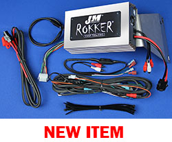 J&M Refurbished ROKKER® XXRP 700w 4-CH DSP Programmable Amplifier kit for 2011-2013 Harley® RoadGlide Ultra