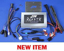 J&M Refurbished ROKKER® XXRP 700w 4-CH DSP Amplifier Kit for 2015-2020 Harley® RoadGlide w/Rear or Lower Speakers