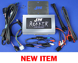 J&M Refurbished ROKKER® XXRP 700w 4-CH DSP Programmable Amplifier Kit for 2016-2020 Harley® RoadGlide Ultra