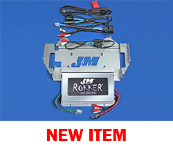J&M Stage-5 ROKKER® XXRP 800w 4-CH DSP Programmable Amplifier kit for 2014-2020 Harley® CVO Ultra/Ltd.