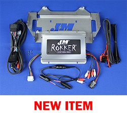 J&M Stage-5 ROKKER® XXRP 800w 4-CH DSP Programmable Amplifier kit for 2014-2020 Harley® Ultra or Ultra Ltd.
