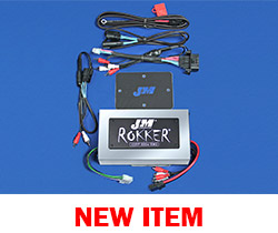 J&M Stage-5 ROKKER® XXRP 800w 4-CH DSP Programmable Amplifier Kit for 2015-2020 Harley® CVO RoadGlide Ultra