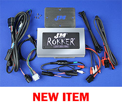 J&M Stage-5 ROKKER® XXRP 800w 4-CH DSP Programmable Amplifier Kit for 2016-2020 Harley® RoadGlide Ultra
