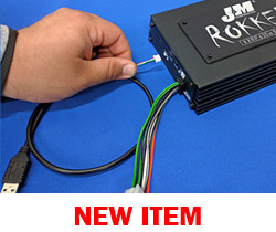 J&M DSP Dongle Connection Harness for the ROKKER® XXRP 630w 4-CH DSP Programmable Amplifier