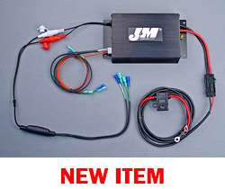 J&M Performance Series 200w RMS 2-ch Amp Kit Universal for 1998-2013 Harley Baggers