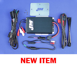 J&M Performance Series 400w RMS 4-Ch Amplifier kit for 2016-2020 Harley® RoadGlide Ultra