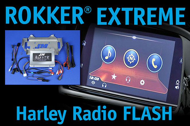 ROKKER Extreme Harley Radio Flash