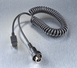 J&M P-Series Lower Section 8-pin Headset Connection Cord for 1999-2019 J&M® Corp 6-pin Audio Systems