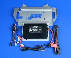 J&M ROKKER® XXR 400w 2-CH Amplifier Kit for 2014-2021 Harley StreetGlide/Ultra