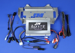 J&M ROKKER® XXRP 800w 4-CH DSP Programmable Amplifier kit for 2014-2021 Harley® StreetGlide w/Rear or Lower Speakers