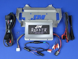J&M ROKKER® XXRP 800w 4-CH DSP Programmable Amplifier kit for 2014-2021 Harley® Ultra/Ltd/Tri-Glide