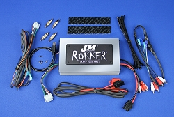 J&M ROKKER® XXRP 800w 4-CH DSP Programmable Amplifier Universal kit for Harley® Bagger Audio Systems
