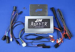 J&M ROKKER® XXRP 800w 4-CH DSP Programmable Amplifier Kit for 2015-2021 Harley® RoadGlide w/Rear or Lower Speakers