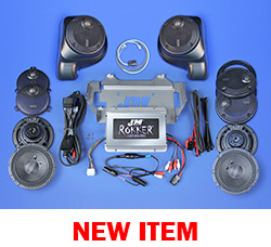 J&M ROKKER® XXR EXTREME 800w 6-Speaker/Amplifier Installation Kit for 2014-2021 Harley® Ultra/Ultra Ltd