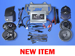 J&M ROKKER® XXR EXTREME 800w 4-Speaker/Amplifier Installation Kit for 2014-2021 Harley® StreetGlide