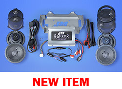 J&M ROKKER® XXR EXTREME 800w 4-Speaker/Amplifier Installation Kit for 2014-2021 Harley® Ultra/Ultra Ltd