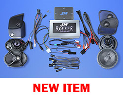 J&M ROKKER® XXR EXTREME 800w 4-Speaker/Amplifier Installation Kit for 2015-2021 Harley® RoadGlide