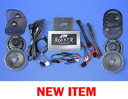 J&M ROKKER® XXR EXTREME 800w 4-Speaker/Amplifier Installation Kit for 2016-2021 Harley® Roadglide