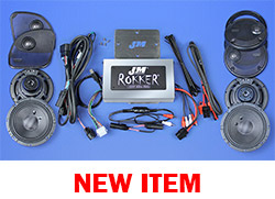 J&M STAGE-5 ROKKER® XXR Custom 800w 4-Speaker/Amplifier Installation Kit for 2016-2020 Harley® Roadglide Ultra