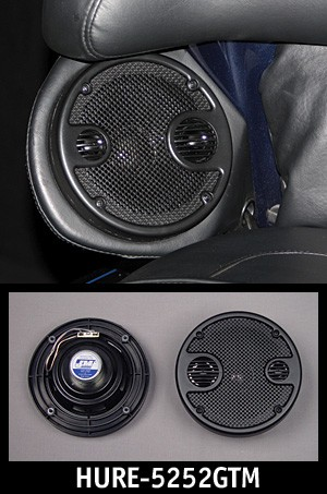 "J&M Perf 5.25"" Rear Speaker Kit w/Grill-Tweet/Mid 2006-2013 Harley® Ultra"