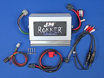 J&M ROKKER® XXRP 800w 4-CH DSP Programmable Amplifier kit for 2018-2020 Honda® GoldWing Tour/Std