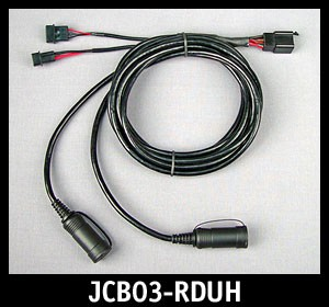 Replacement Driver/Pass Headset Harness for JMCB-2003-DU Systems