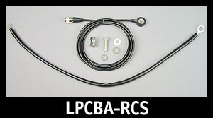 Repl CB Antenna Coax W/Stud & Ground Strap
