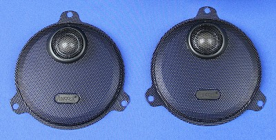 J&M ROKKER® Fairing Speaker Grill-Set w/Tweeter 2014-2021 Harley® StreetGlide or Ultra/Ltd