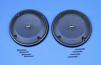 J&M Rear Trunk-Pod Speaker Grill-set 2014-21 Harley® Ultra or Ultra/Ltd