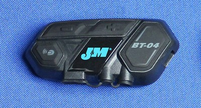 J&M Replacement BT-04 Bluetooth Control Head Module (Only) for Clip-on Style Mounting System