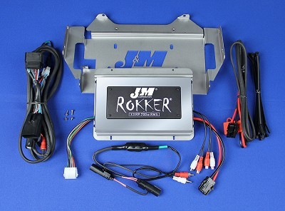 J&M Refurbished ROKKER® XXRP 700w 4-CH DSP Programmable Amplifier kit 2014-2020 Harley® Ultra or Ultra Ltd.