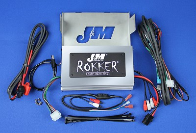 J&M ROKKER® XXRP 800w 4-CH DSP Programmable Amplifier kit for 2006-2013 Harley® Ultra or Ultra Ltd.
