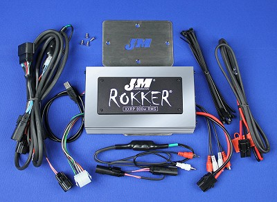 J&M ROKKER® XXRP 800w 4-CH DSP Programmable Amplifier Kit for 2016-2020 Harley® RoadGlide Ultra