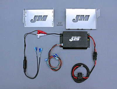 J&M Performance Series 200w 2-ch Amp kit 06-13 Harley Street/Ultra/ElectraGlide