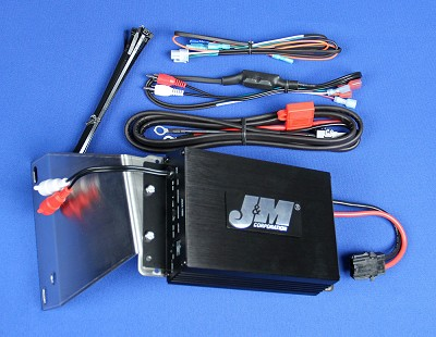 J&M Performance Series 200w 2-ch Amplifier Kit for 2006-2013 Harley® RoadGlide Fairing