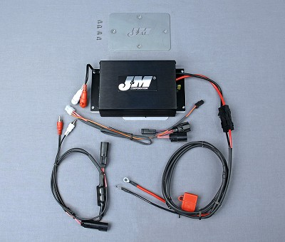 J&M Performance Series 200w 2-CH Amplifier Kit for 2015-2020 Harley Davidson RoadGlide or RoadGlide Ultra