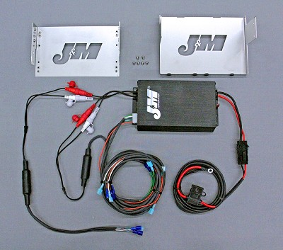 J&M Performance Series 400w RMS Amplifier Kit for 2006-2013 Harley Ultra/ElectraGlide
